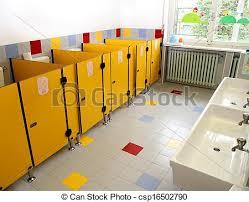 kleine badezimmer kindern in einem kindergarten und sehr