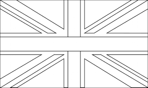 Best Photos Of Uk Flag Coloring Page British Pertaining To