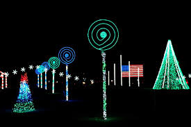 Blinking Christmas Tree Lights by The Coney Island Christmas Light Show Is Our Favorite New Holiday