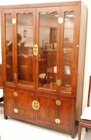 Henredon Breakfront China Cabinet by Auction Catalog Nadeau U0027s Auction Gallery
