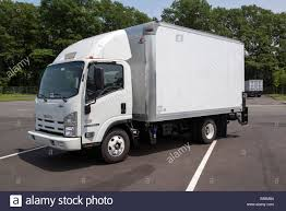 Box, Or Straight Truck, Isuzu NPR HD Model Stock Photo: 72655076 - Alamy