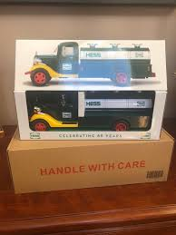 2018 Collector's Edition Hess Toy Truck 85th Anniversary Edition For ... Hess Toy Truck The Mini Trucks Are Back Order Facebook Quad Combo Jackies Store 1972 Rare Gasoline Oil On Sale 500 Usd Aj Amazoncom 2017 Dump And Loader Toys Games Toy Truck A First Of Its Kind For Company Wfmz Backthough It Never Really Disappeared From The 2018 Collectors Edition 85th Anniversary Excellent 1976 With 3 Barrels In Original Box 2016 Dragster Walmartcom Mobile Museum To Make Local Stops Trucks Roll Out Every Winter Bring Joy Collectors 2014 Mib