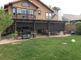 Patio Covers Boise Id by Patio Cover Drop Shades Twin Falls Id
