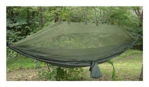 Suspended Jungle Hammock with Mosquito Net by Snugpak