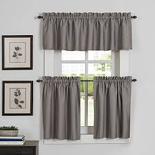 European Cafe Window Art Curtains by Kitchen U0026 Bath Curtains Bed Bath U0026 Beyond