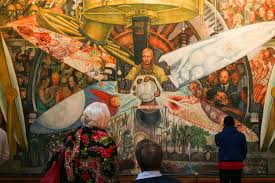 image gallery of diego rivera murals lenin