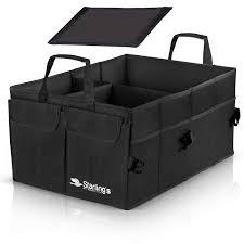 100 Waterproof Truck Box Amazoncom Starlings Car Trunk Organizer Super Strong Foldable
