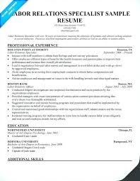 Resume Examples Feat Labor Relations Specialist Job On Samples For Prepare Astonishing Sample High School Student Part Time 548