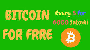 Free Bitcoin Faucet Hack by Earn Daily Free Bitcoin Every 5 Minute For 6000 Bitcoin Satoshi On