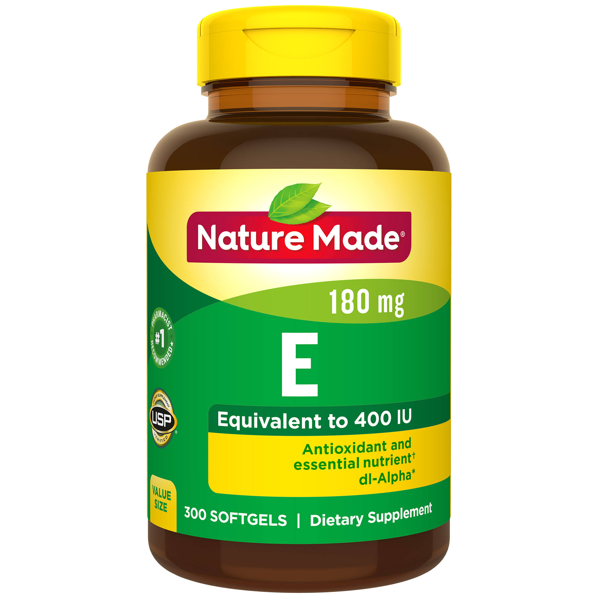 Nature Made Vitamin E Dl Alpha Softgel Supplement - 400 IU, 100ct