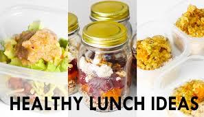 3 Healthy Lunch Ideas Meal Prep Vegetarian Vegan Options Rachel Aust