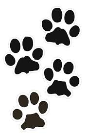 Dog paw prints paw print clip art clipart clipartandscrap