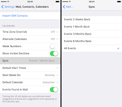 How to stop your iPhone or iPad from deleting old calendar events