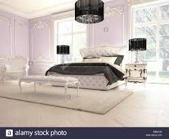interieur aus einem klassischen stil schlafzimmer in luxus