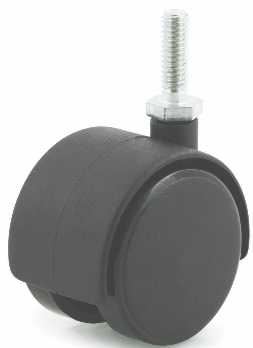 DH Casters Twin Wheel Caster - 2""