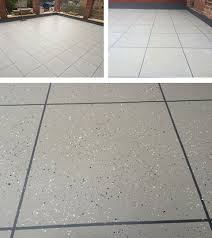 pmma waterproofing system with fantastic tile effect westwood