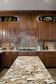 Kitchen Countertops And Backsplash Pictures Granite Backsplash How To Choose Between 4 Height