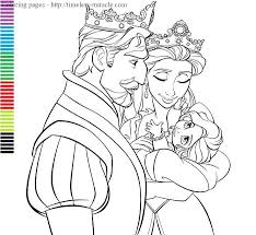 Free Coloring Online Pages Disney Princesses In New Baby Princess 43