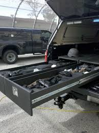 100 Truck Bed Gun Storage CP227210TL Single Drawer Box Troy Products