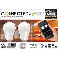 tcp connected smart led light bulb starter kit gateway plus 2