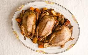 cuisine pigeon roast pigeon recipe