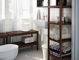 Diy Bathroom Vanity Tower by Bathroom Smart Bathroom With Recessed Shelves Beside Rectangular