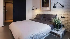 Diy Pallet Furniture Ideas Bedroom Bed Integrated Night Tables