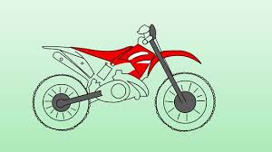How To Draw Dirt Bikes 10 Steps With Pictures