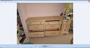 Heywood Wakefield Dresser Value by Vanity My Antique Furniture Collection