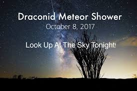 Look Up At The Sky Tonight — Stunning Draconid Meteor Shower Will
