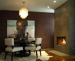 Dining Room With Fireplace 8 Cozy And Modern Rooms S