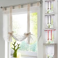 lianle raffrollo schlaufen gardine vorhang transparent für wohnzimmer hochzeit deko 140 140cm beige