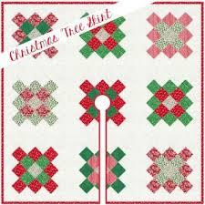 Granny Square Christmas Tree Skirt Free Pattern At Fort Worth Fabric Studio