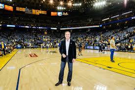 Golden State Warriors Owner Joe Lacob Shown Late Last Month At The Oracle Arena In