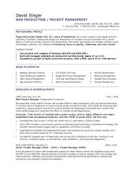 Project Manager Experience Resume Unique Templates For Managers Beautiful Template Of