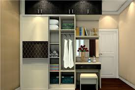 Slider wardrobe with dressing teble d wall wardrobe d house