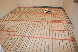 heated bathroom floors heated bathroom floor diy heated bath floor
