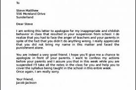 Apology Letter to Friend After Bad Behaviour