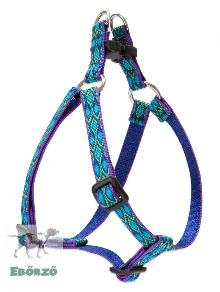 "LupinePet Originals 1/2"" Rain Song 12-18"" Step in Harness for Small Dogs"