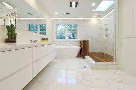 white marble floor tile houzz