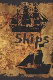 100 Design A Pirate Ship S Tall SketchbookBlank Pagesrtist Sketch