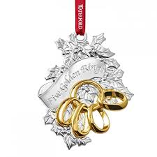 Waterford 2015 Five Golden Rings Ornament