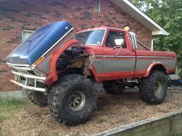 100 1976 Ford Truck My F150 Shortbed 4x4 460 Big Block Sitting On 185x44x15