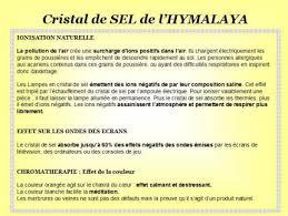 le de cristal de sel cristal de sel de l himalaya décoration zen fontaines feng