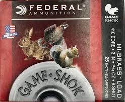 Federal Ammunition Federal Game Shok 410 3