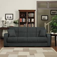 amazon com handy living damen convert a couch in gray microfiber