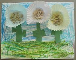 Cupcake Liner Garden Theme Craft