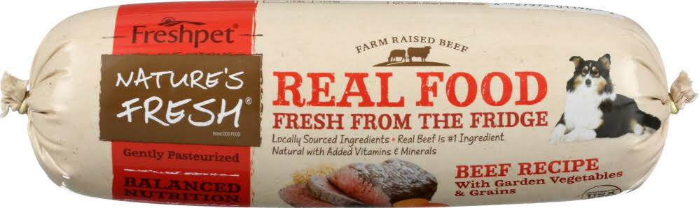Freshpet Beef, Vegetables & Grains Fresh Dog Food