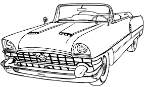 Coloring Download Vintage Car Pages Old Printable Archives Free
