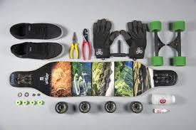 2012 Arbor Axis GT Longboard, Slide Gloves, Bearing Cleaning Bottle ...